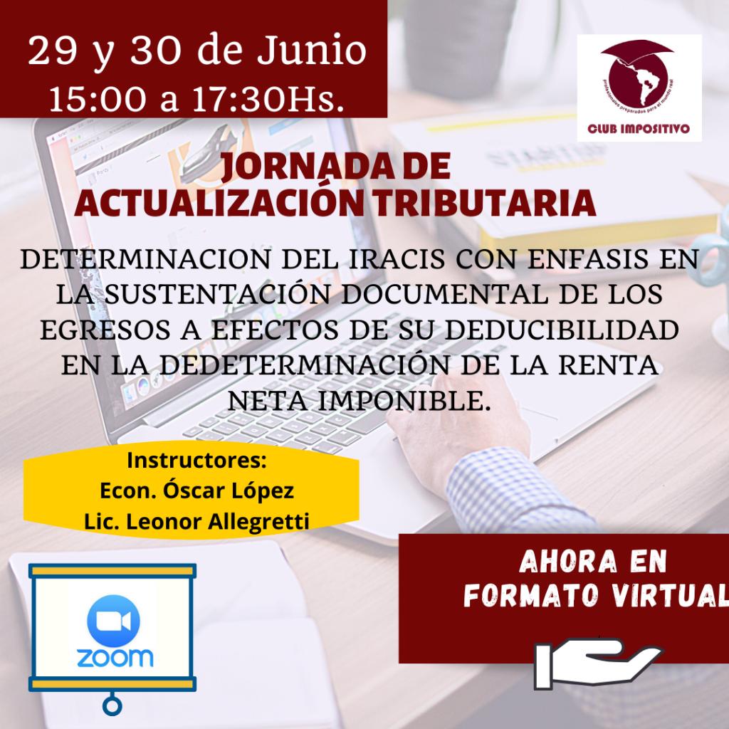 JORNADA DE ACTUALIZACIÓN TRIBUTARIA